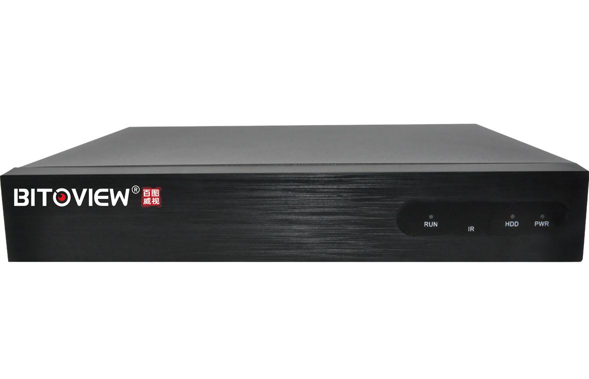 百图威视NVR BT-NR0109 H265 1盘位9路H.265网络硬盘录像机